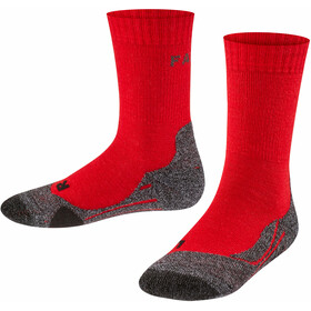 Falke TK2 Trekking Sokken Kinderen, rood